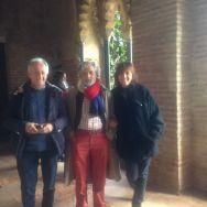 Rosa, Ramón y otro en Galiana